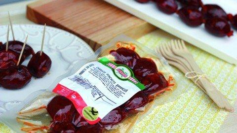 Chorizo barbacoa mini bolsa